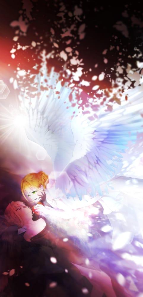 禁果 Illust of 亙羽 Gengyu January2021_Contest:OC February2021_Fantasy original angel oc demon apple