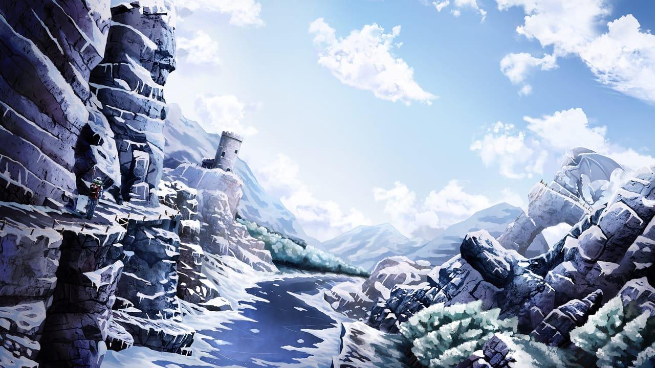 冰雪世界 Illust of 一撇 scenery snow 冰雪 雪山