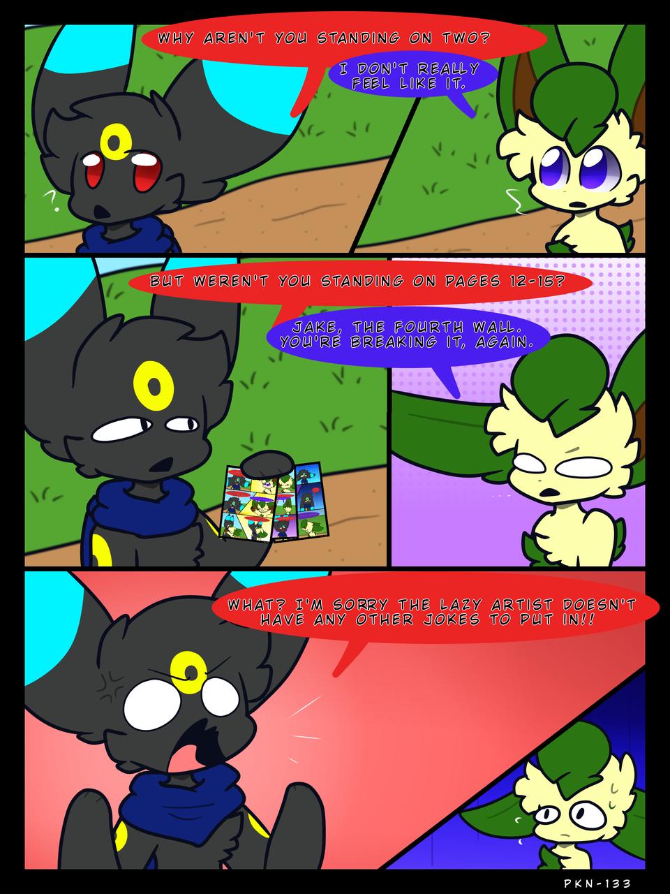 More eevee comick Illust of ✨ PKN-133 ✨ oc Comics Jaketheumbreon pokemon digital PKN-133