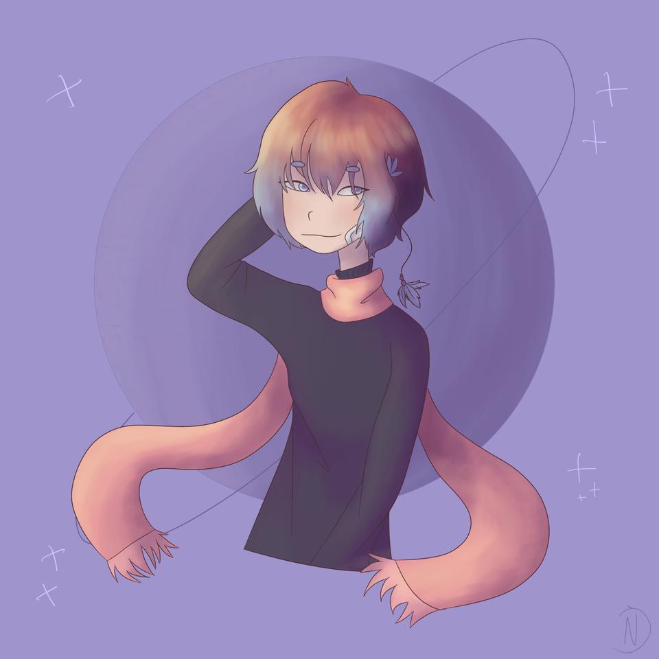 💫 Illust of Namu Human random uwu español
