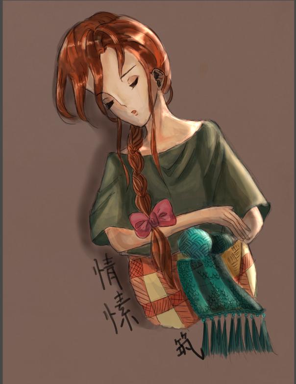 情愫(彩) Illust of ㄚ倖 January2021_Contest:OC