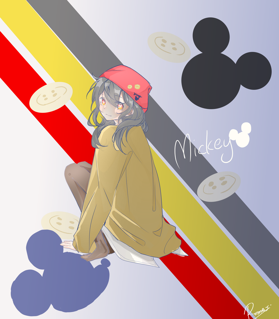 disney mickey Illust of 嘘つきロメオ medibangpaint