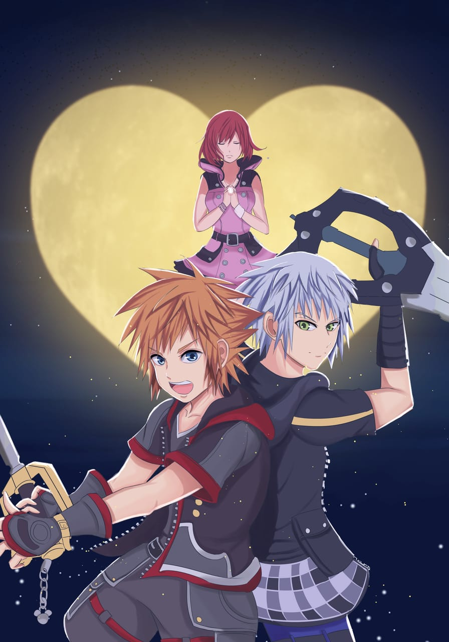 Kingdom Hearts Illust of Pempem anime fanart KingdomHearts manga art animefanart game