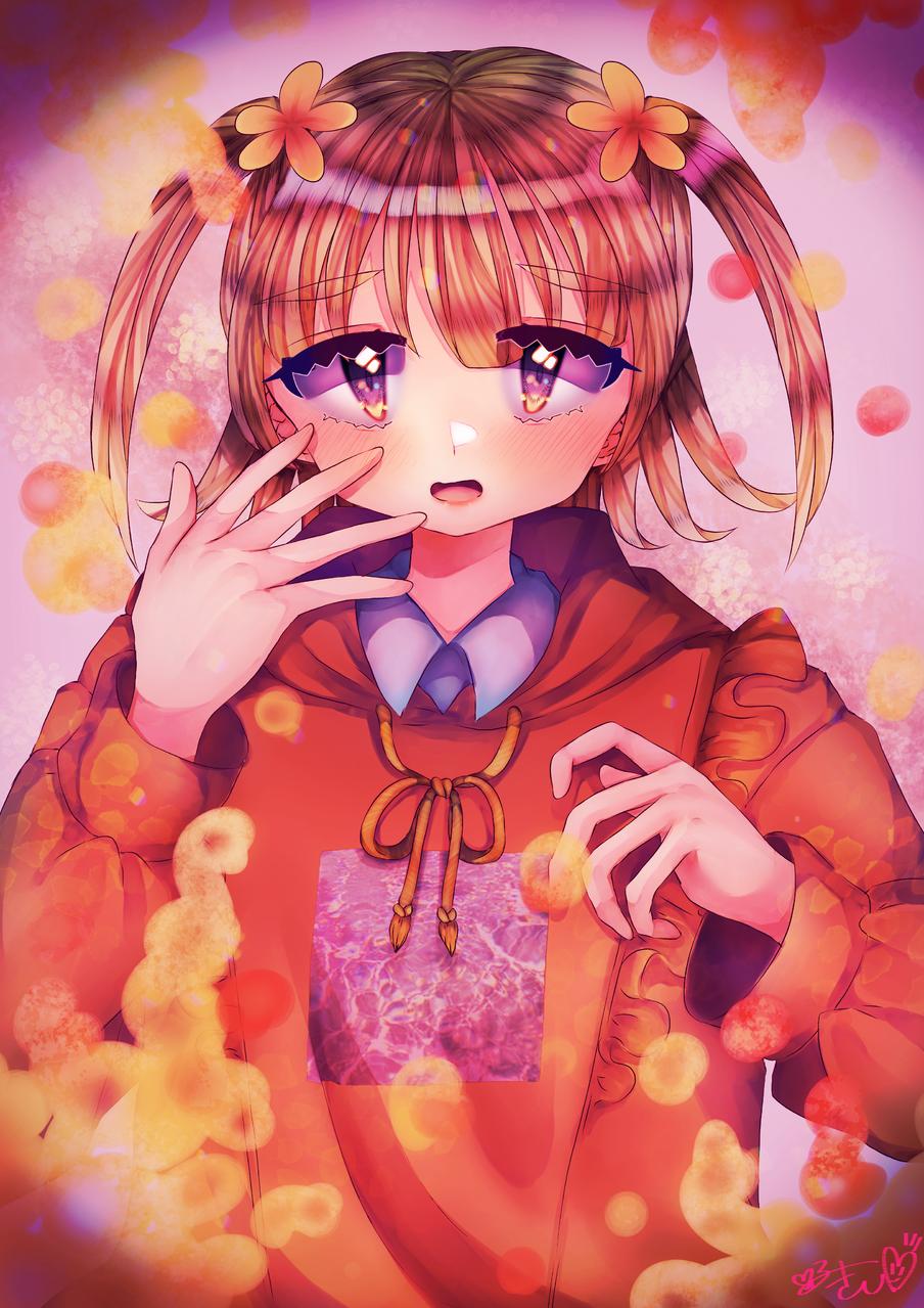 夢幻泡影 Illust of カツシカルキコ original twin_ponytails oc girl