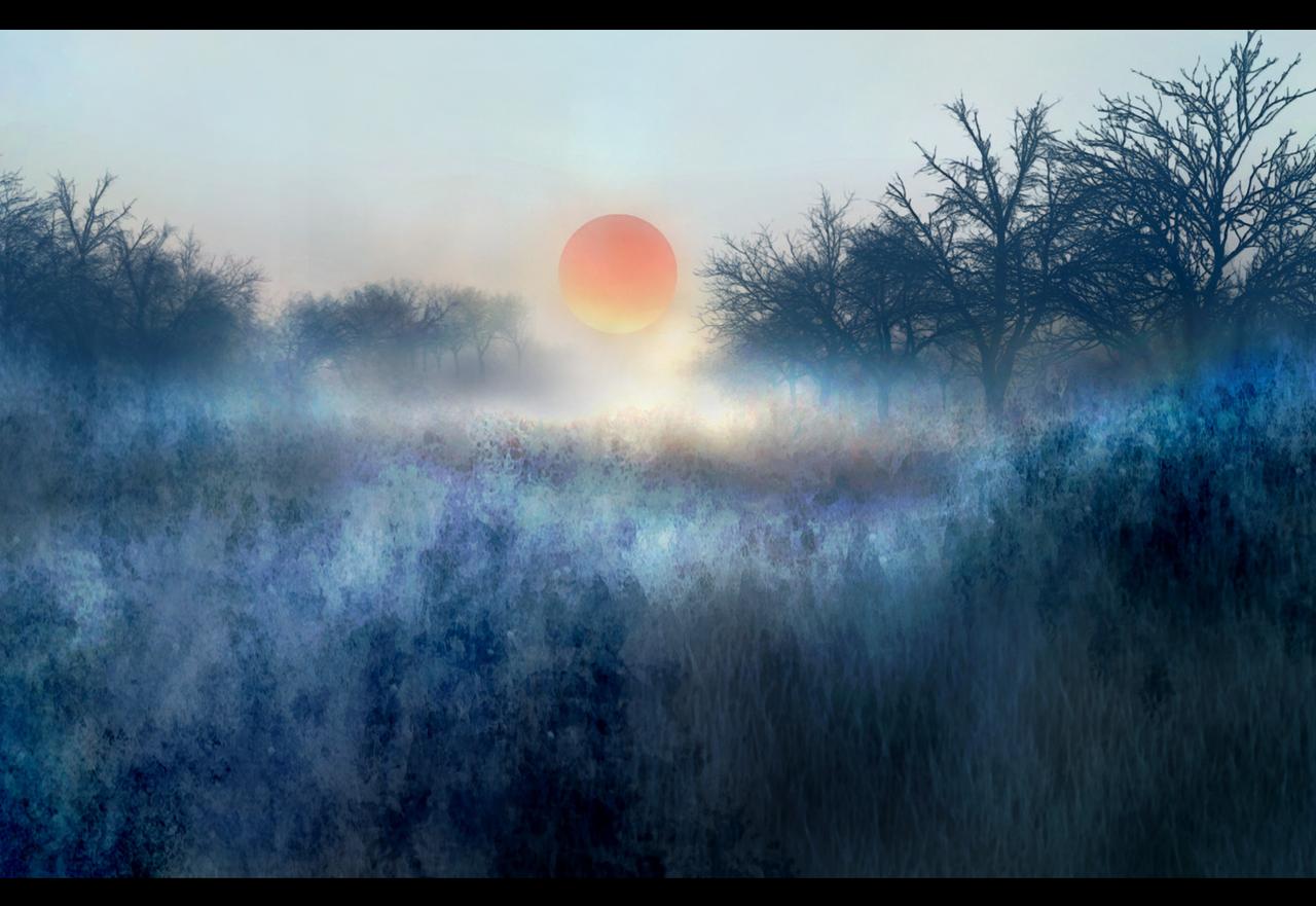冬之落陽 Illust of 晴夜星子 ArtToPaper2017
