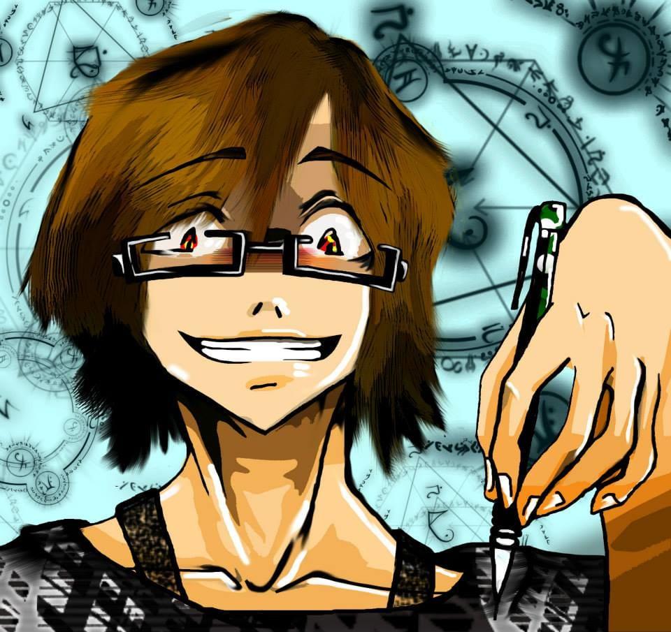 Autorretrato Illust of DANNARTWORK pencil drawing danna ilustration illustration dibujante. autorretrato