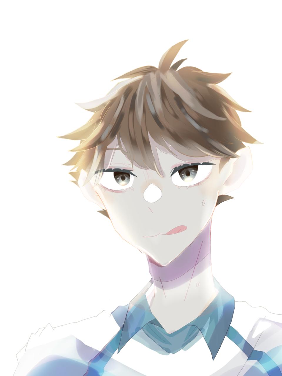 『信じてるよ、お前ら』 Illust of はんぺん TōruOikawa Haikyu!! handsome boy
