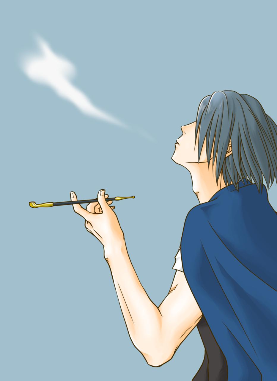 一服 Illust of como 新門紅丸 fanart FireForce