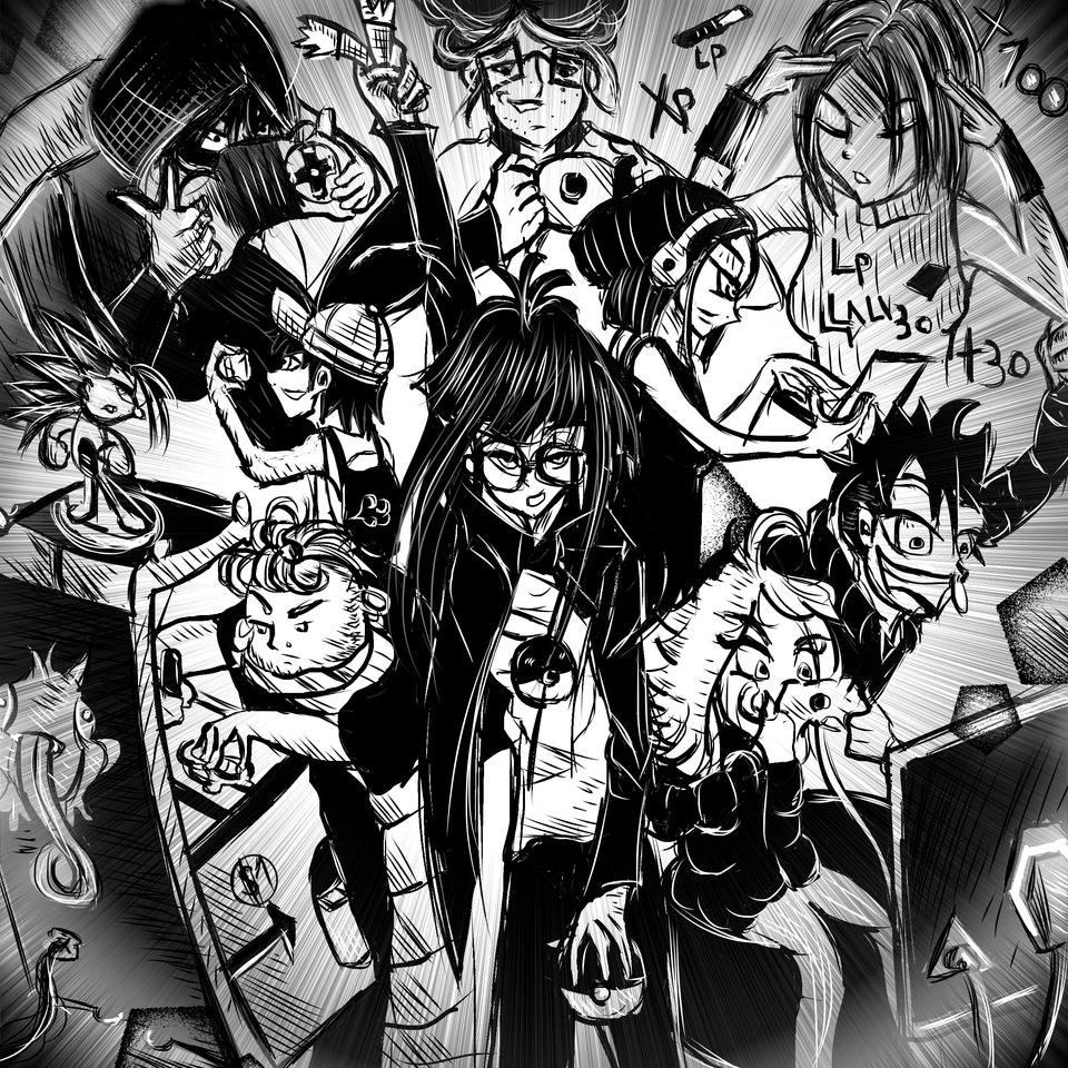 Arcade frikis Society (A.F.S) Illust of AcP MySecretSocietyContest