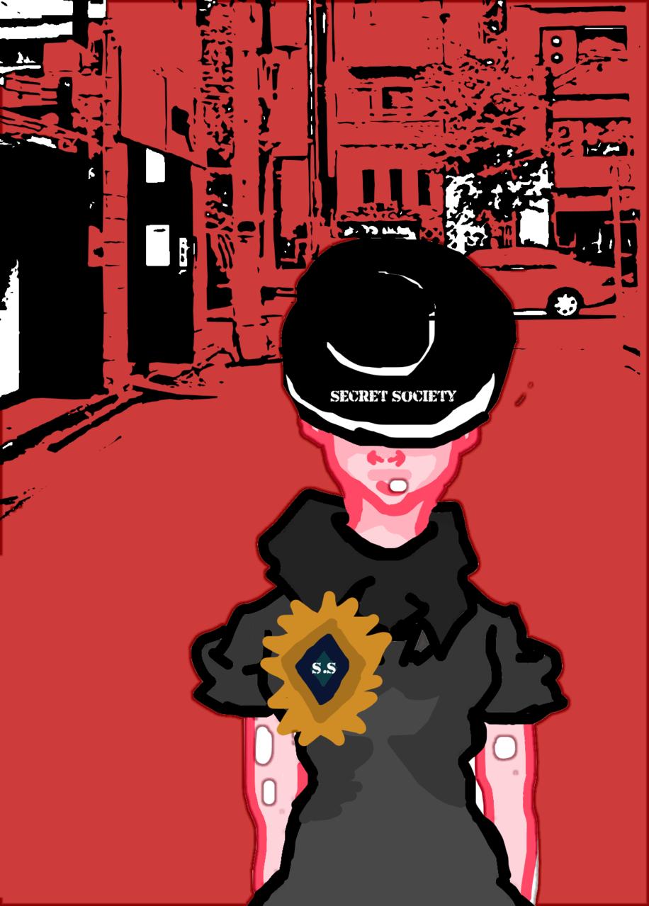 S.S Illust of elijahmakesarts MySecretSocietyContest anime painting cutegirl cute girl characterdesign contest