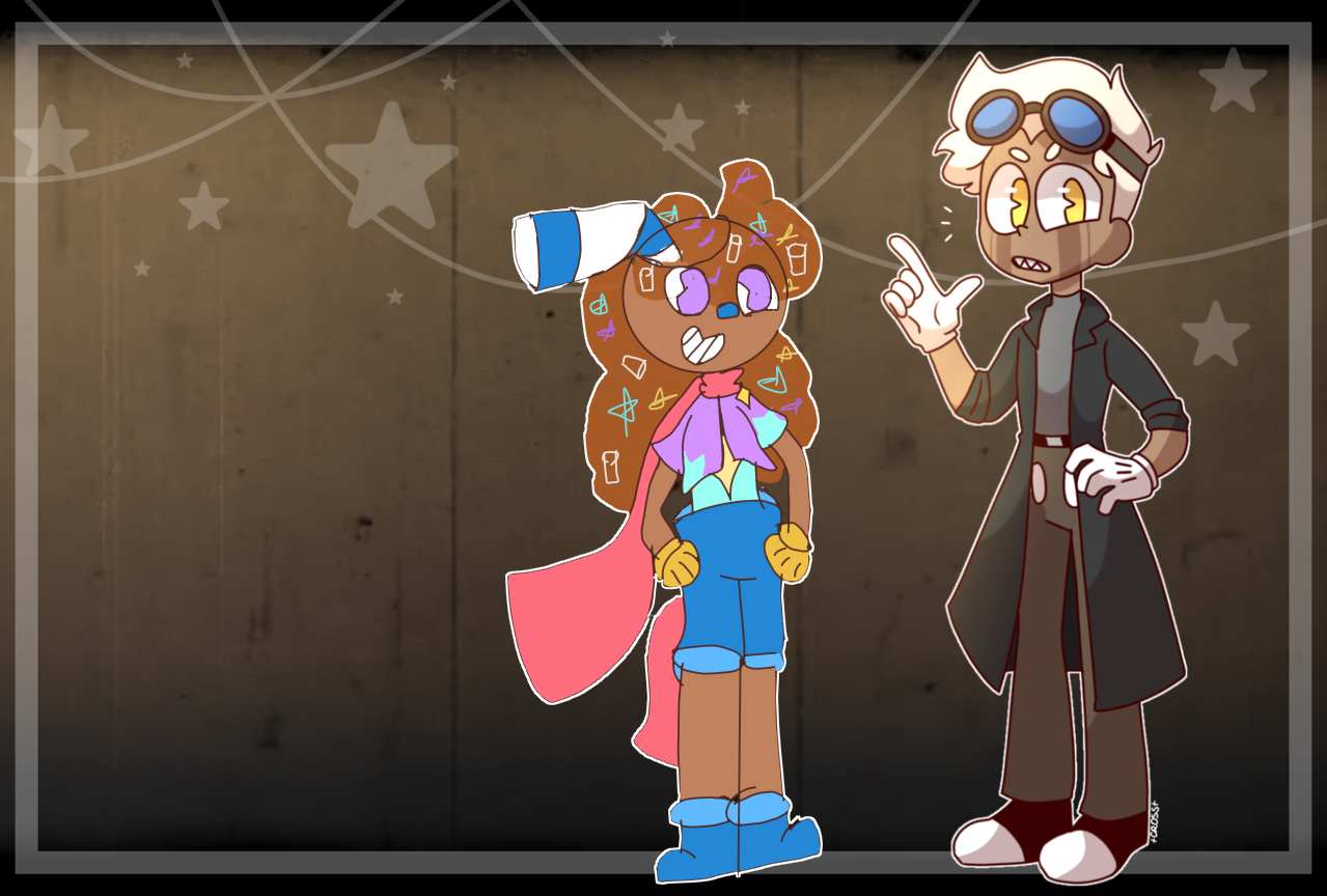 Cuphead colab! (colab time) Illust of Hoshi travels the cosmos medibangpaint