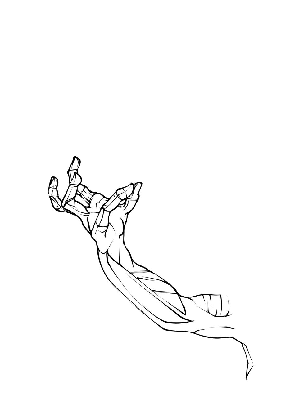 me costo hacer la mano,