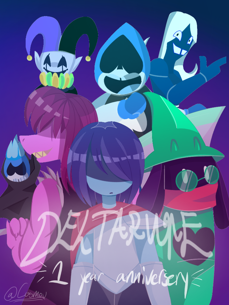 Deltarune (1 year anniversary fanart)