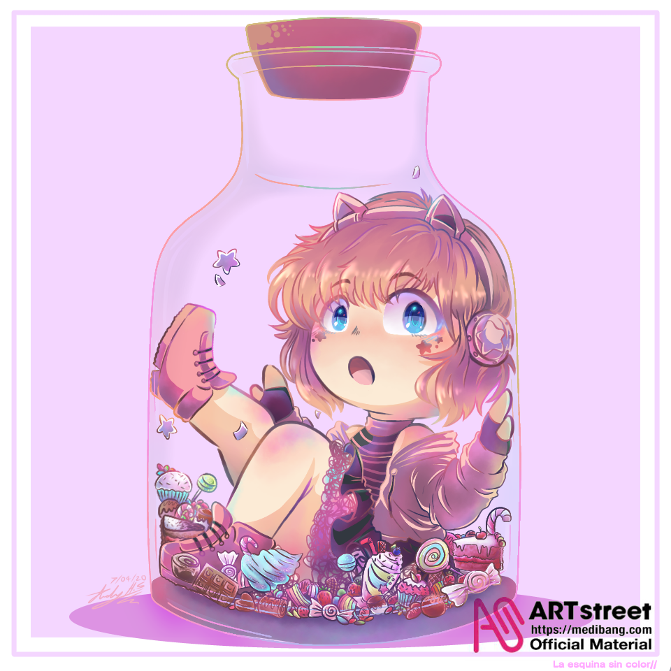 my little candy  Illust of Scarlet tracedrawing ARTstreet_Ranking Trace&Draw【Official】 drawing ¡CalcaryDibujar! candy