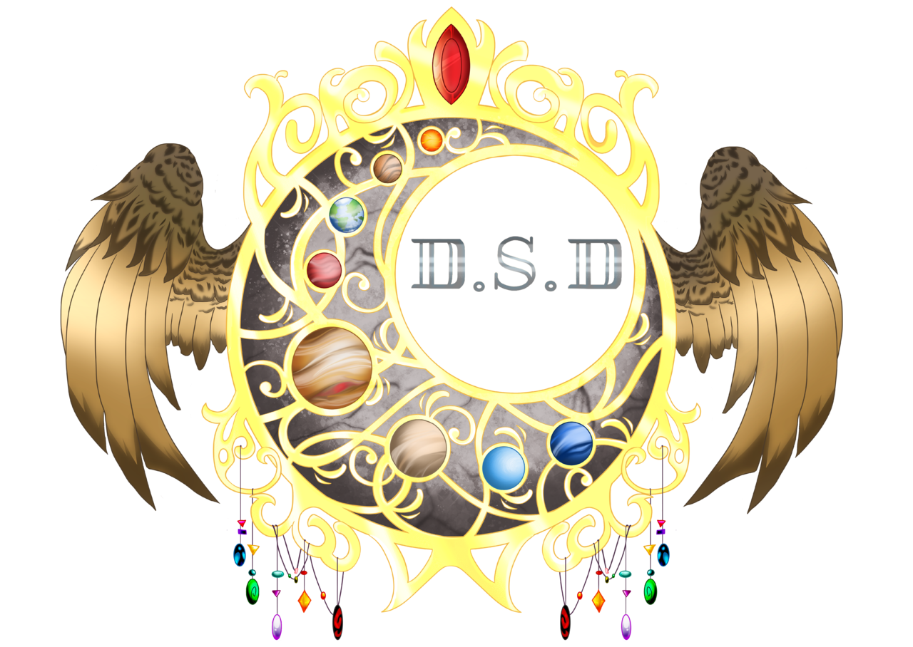 D.S.D Dont. Stop. Dreaming grey logo Illust of Akira master medibangpaint