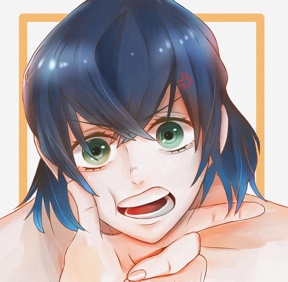 「おいっ!なんだなんだっ💢」 Illust of 平井堅のマイク kawaii anime 獣の呼吸 KimetsunoYaiba medibangpaint HashibiraInosuke