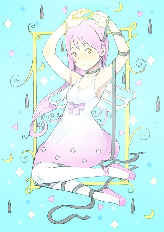 天使になれるかな? Illust of かみむらあき illustration angel 見習い girl