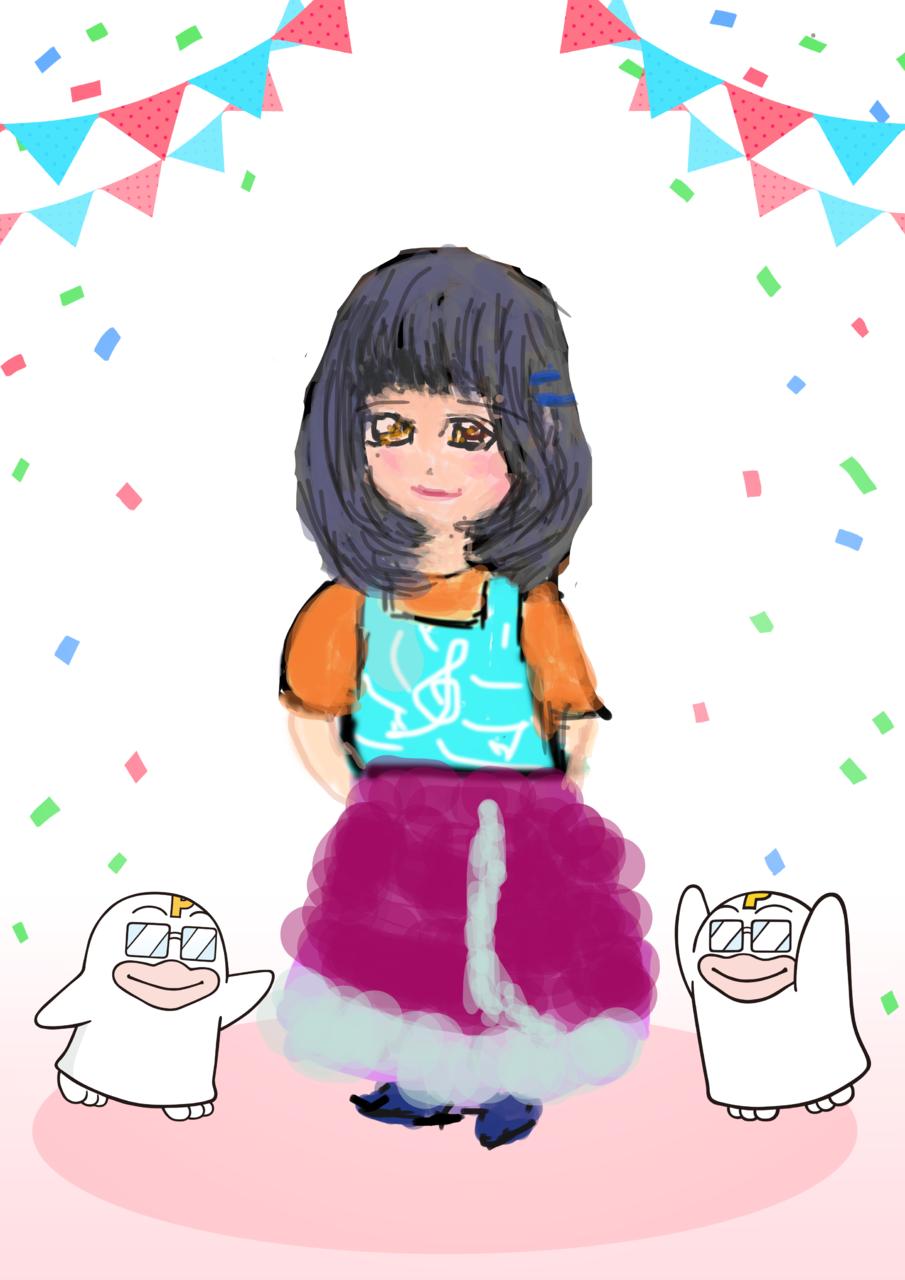 よろしくお願いします Illust of yun PICO公式キャラクターPICOQガールフレンド大募集!!コンテスト medibangpaint
