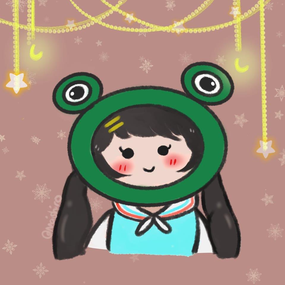Froggie Marie  Illust of maishiro February2021_Fantasy