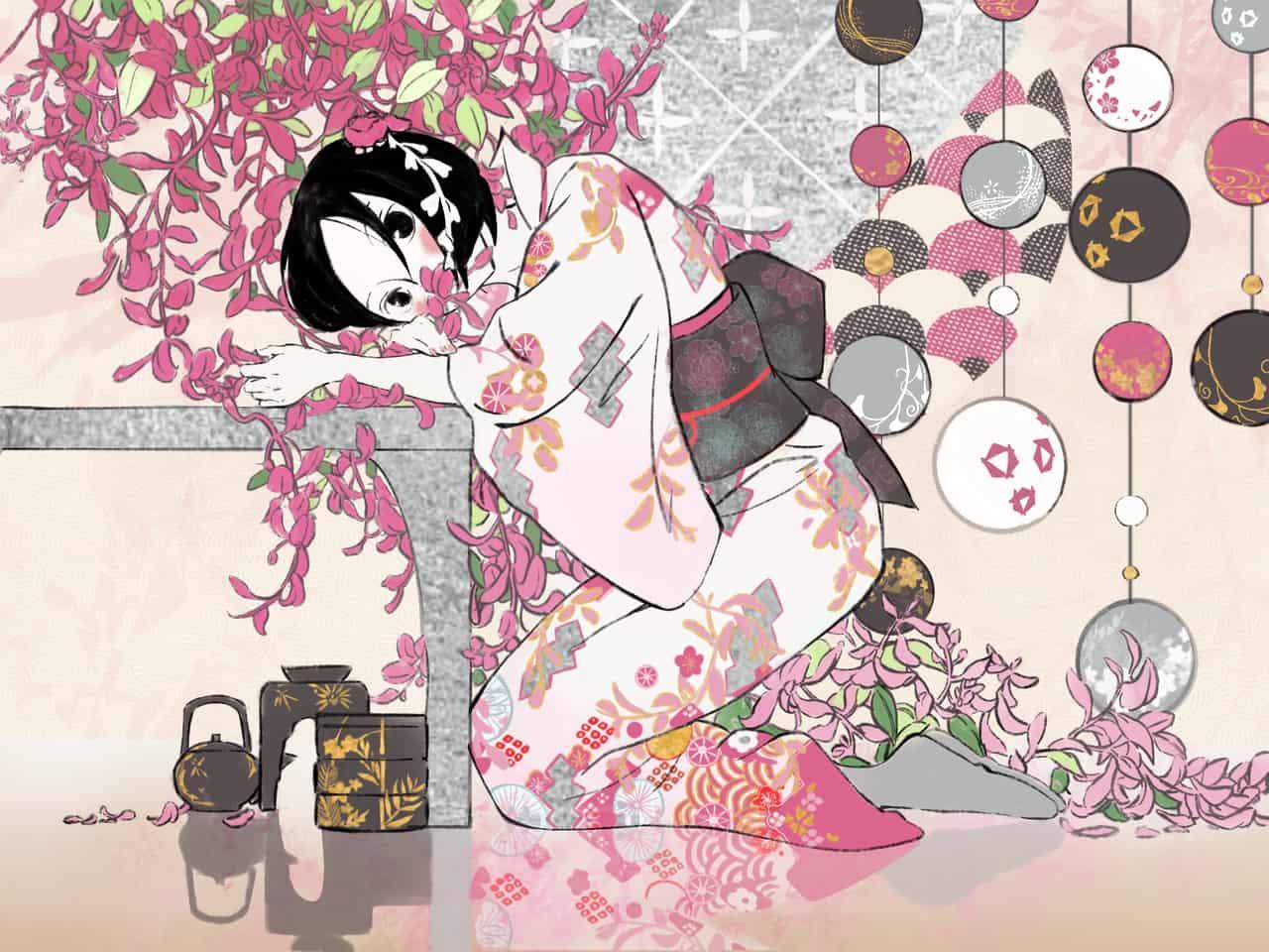 萩 Illust of NyanChan Kyoto_Award2020_illustration kimono girl