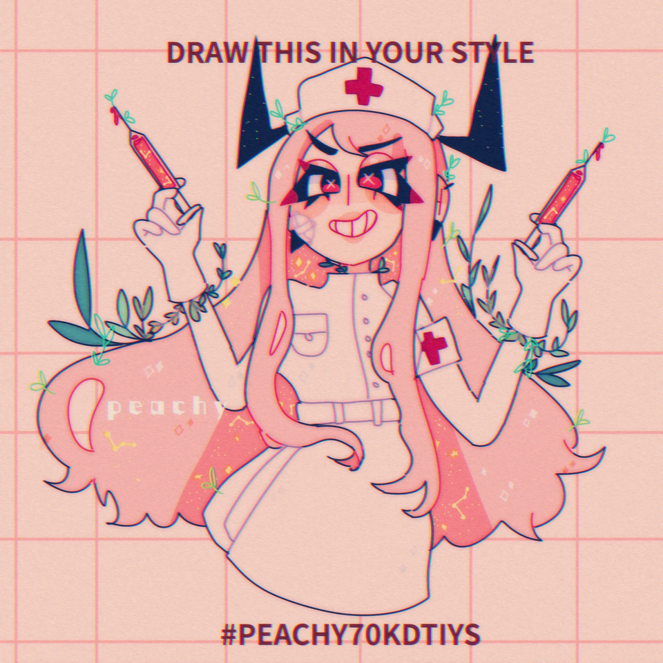 dtiys Illust of peachy_gore medibangpaint peachy70kdtiys PEACHY70KDTIYS
