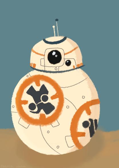 BB-8 Illust of Ellamia