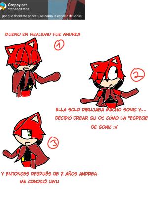 1) pregunta de creppy cat  Illust of AndreaTheCat medibangpaint