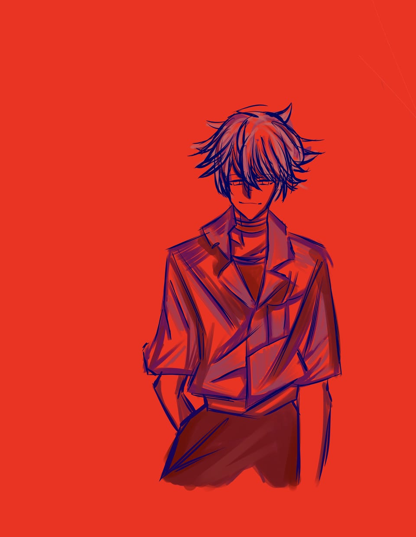 Evangelion Kaworu Nagisa Illust of Mokura