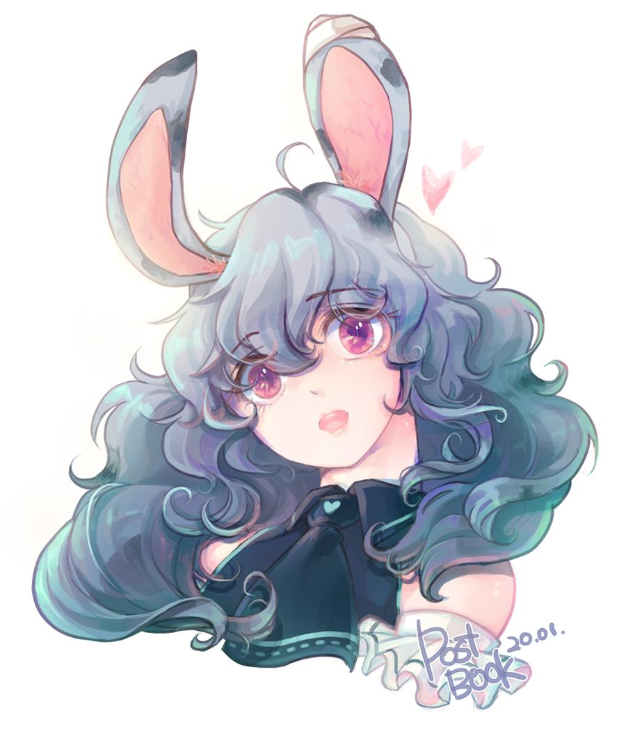 토끼1. Illust of Postbook rabbit 토끼소녀