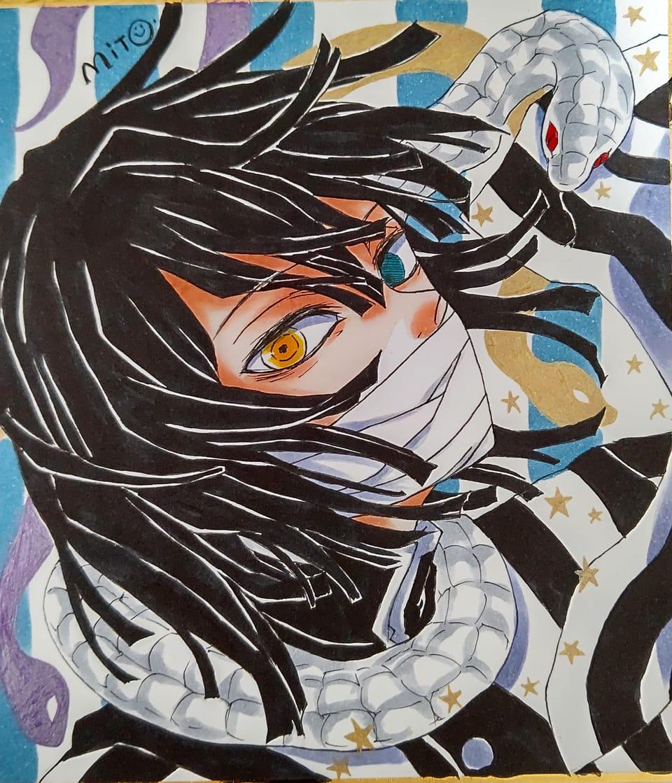 蛇たち。 Illust of ミト コピックイラスト KimetsunoYaiba IguroObanai