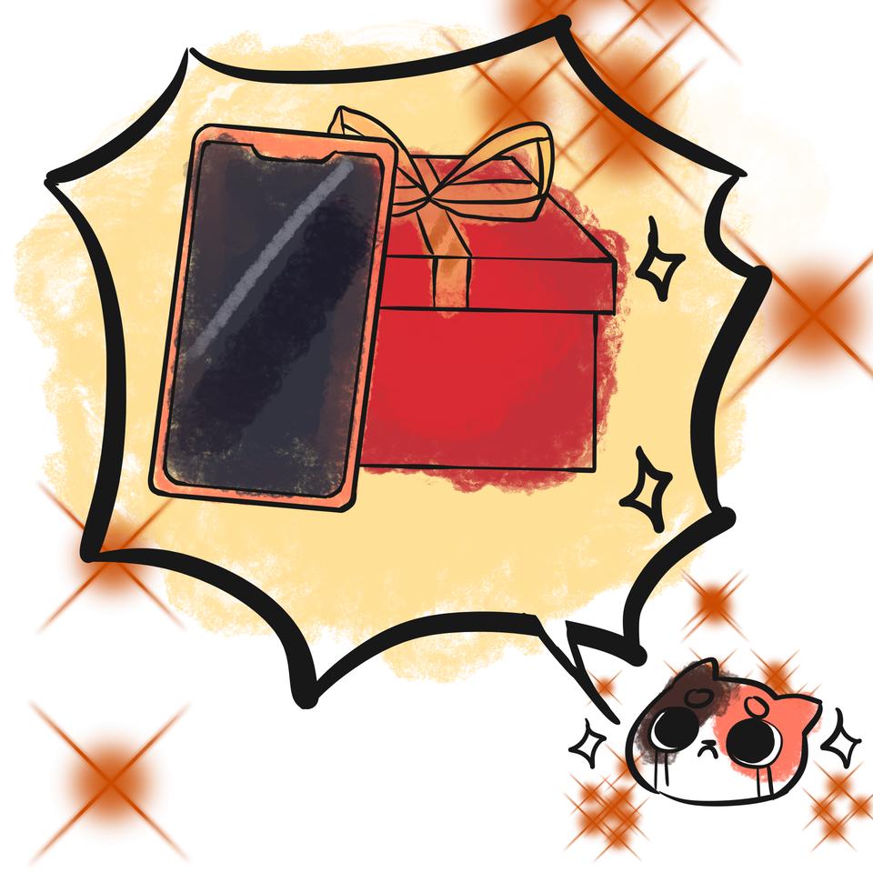 Medibang please get me a new phone!! >< Illust of Mumechi giftyouwant2020 giftyouwant2020:50000YenGift