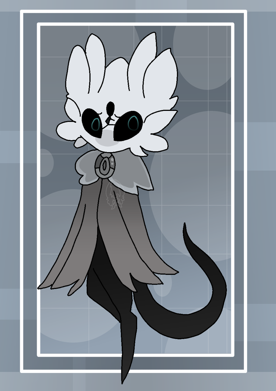 Oliver (in Ash's style) Illust of Squidkid64 medibangpaint oc cute Vessel_Vote Hollow_Knight ❄️ash❄️