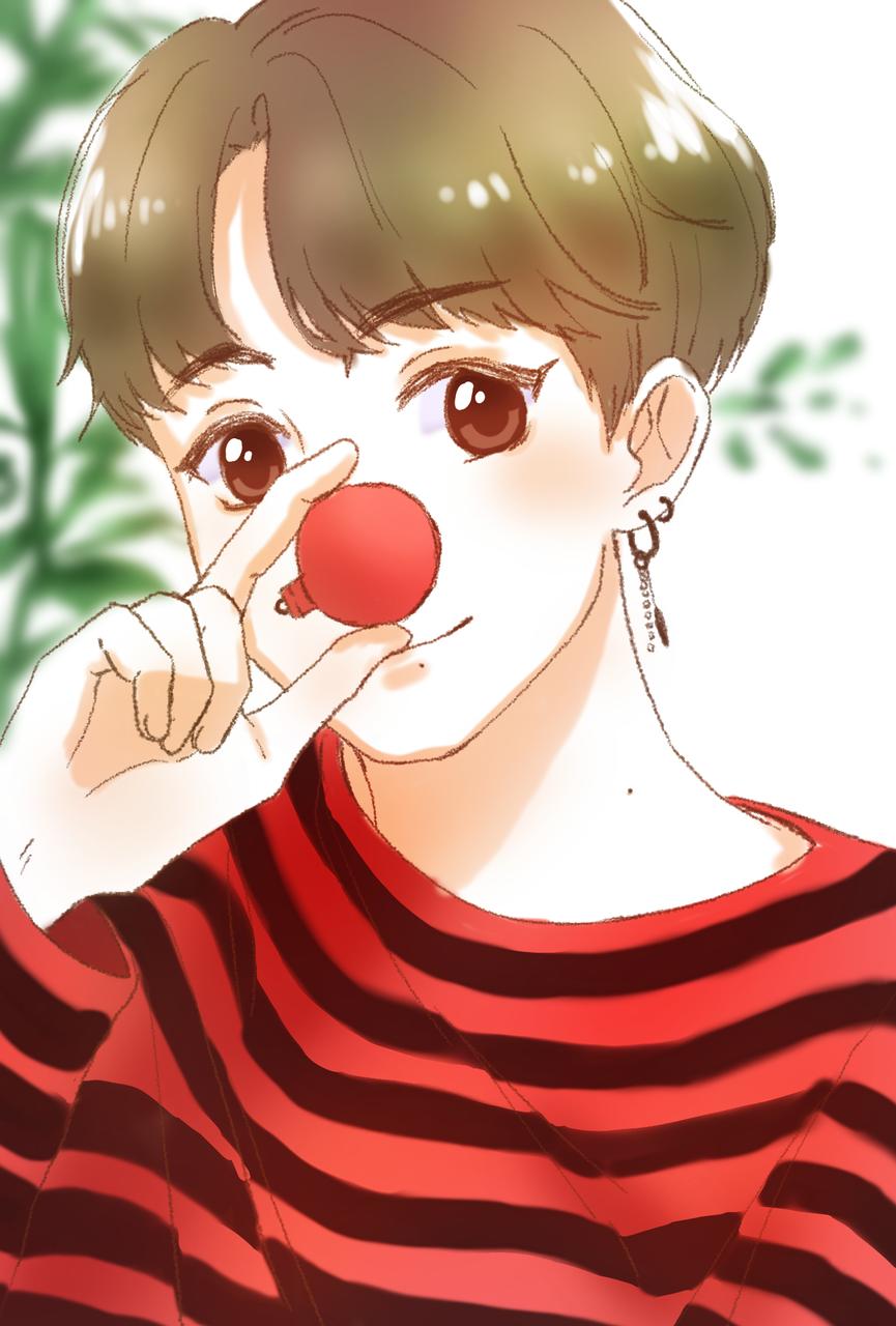 jungkook Illust of krisppie medibangpaint anime BTS cute Jungkook