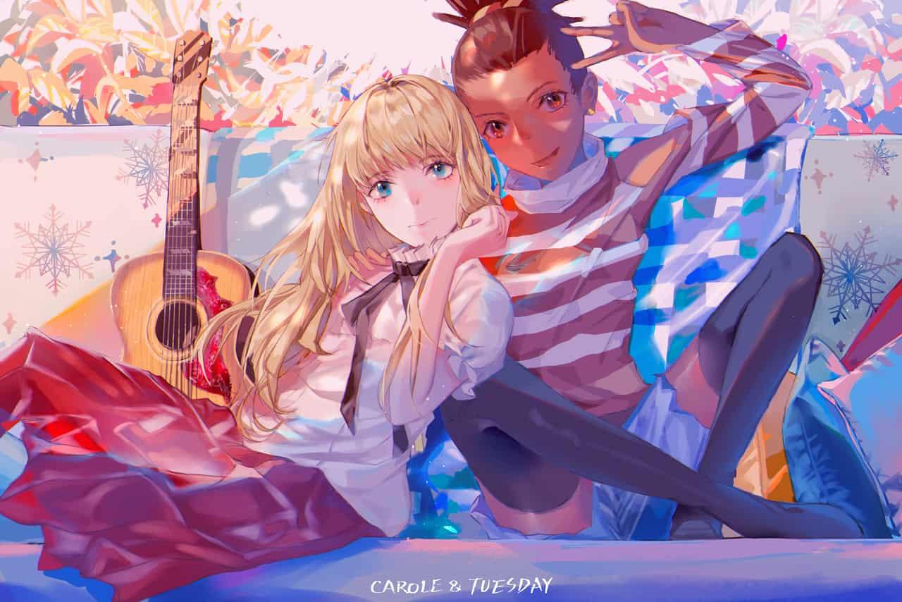CAROLE & TUESDAY  Illust of Yusuriw carole&tuesday_fan CAROLE&TUESDAY