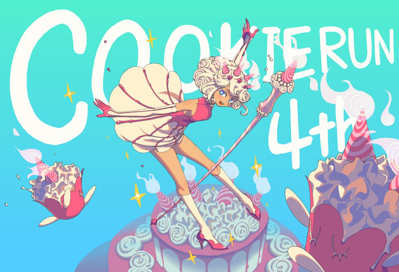 Cookierun4thanniversary  Illust of Moread Cookie_Run