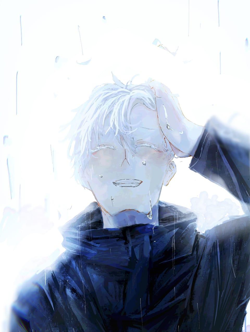 五条 Illust of 莎々 呪術廻戦ファンアート JujutsuKaisen 呪術廻戦イラスト SatoruGojō 五条悟イラスト