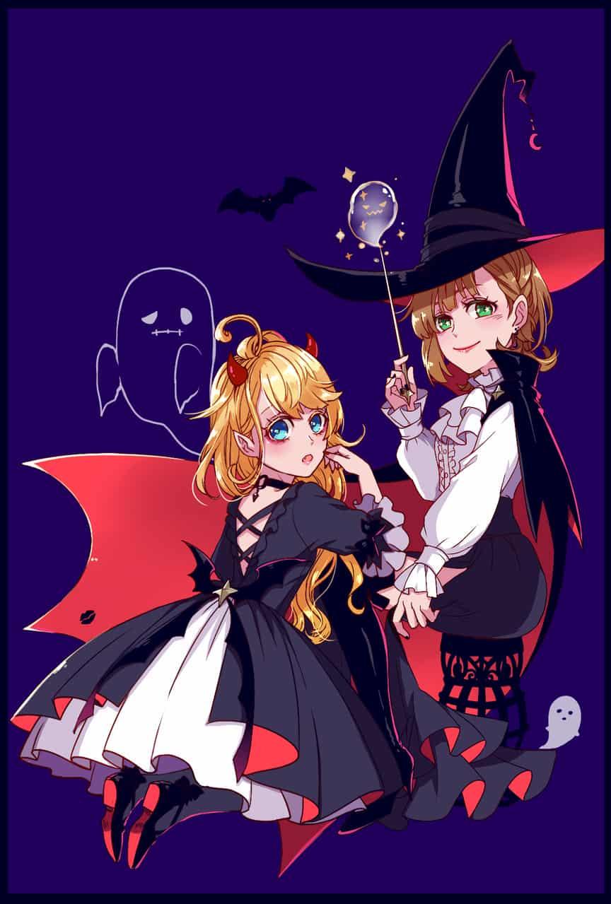 魔女與小惡魔