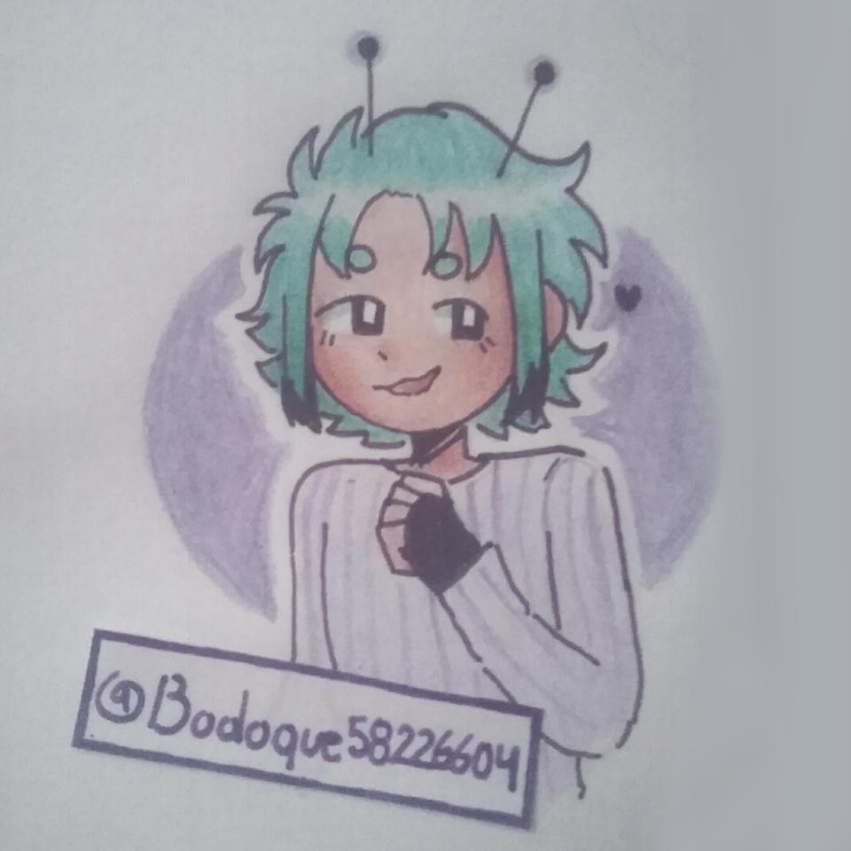 Una alien sin nombre Illust of Bodoque medibangpaint