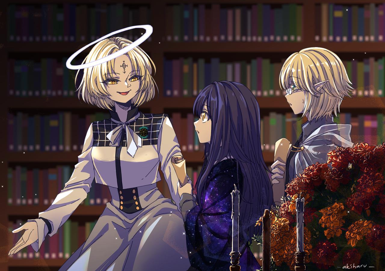 Report - [Side Quest] Illust of AkiHaru medibangpaint illustration scene oc library Omg originalcharacters