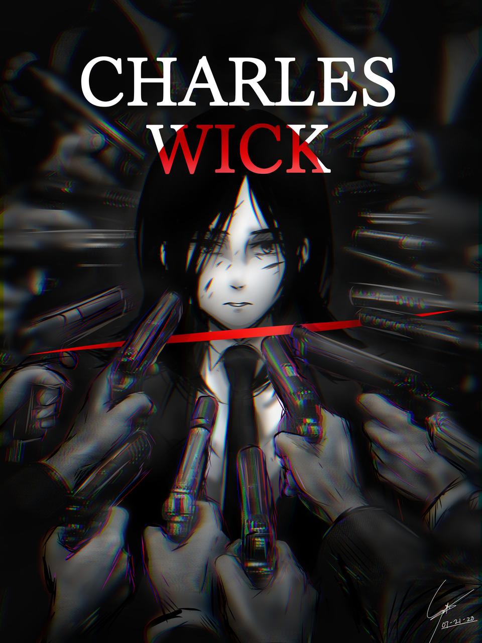 John Wick poster parodies w/ my OCs Illust of Ecchiban-Sensei Badass oc Hitman parody johnwick