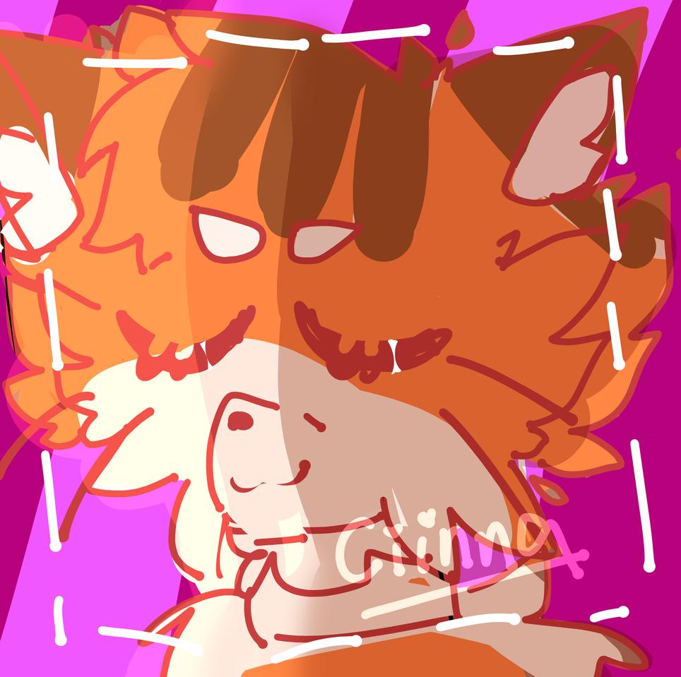 bday Gift for DrawingCat.🅱️ruh! Illust of Ciinnanya! oc cat furry medibangpaint