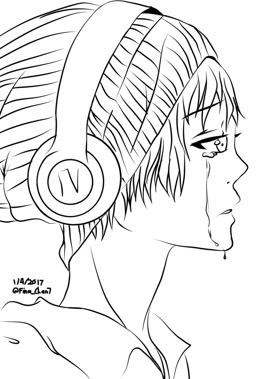 Sad Anime Mouth