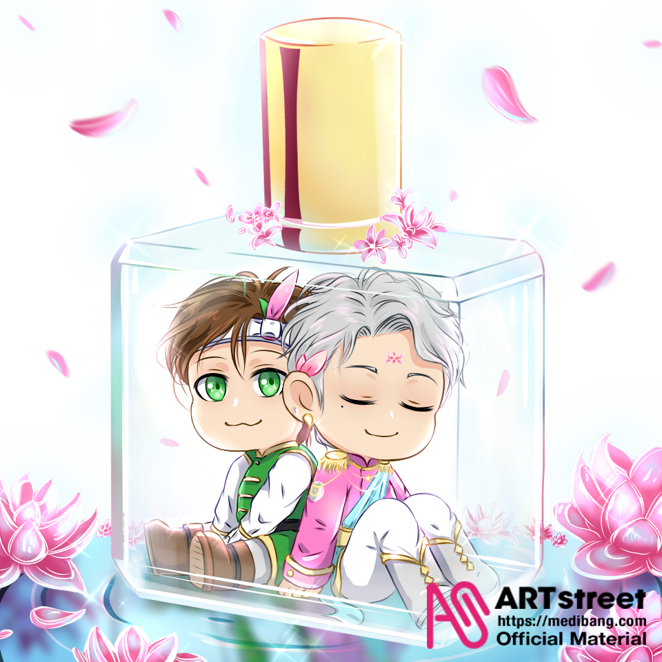 My Beauty Prince Illust of Ladekpoh tracedrawing4th Trace&Draw【Official】 boy chibi chibiboy friendship cute boys