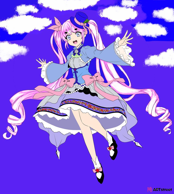 Illust of puraneto ColoringContest