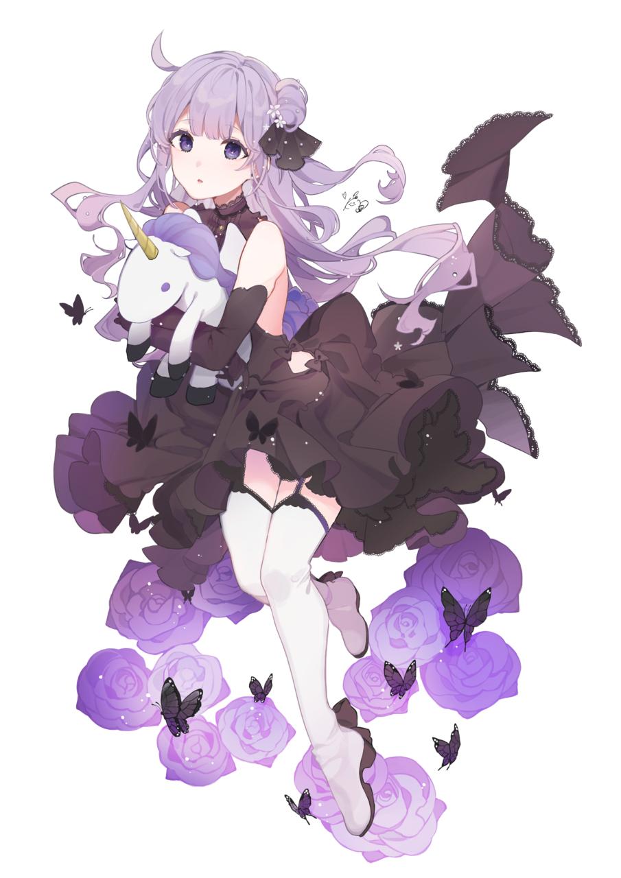 黒ユニコーン  Illust of こんぺ伊藤 Unicorn AzurLane