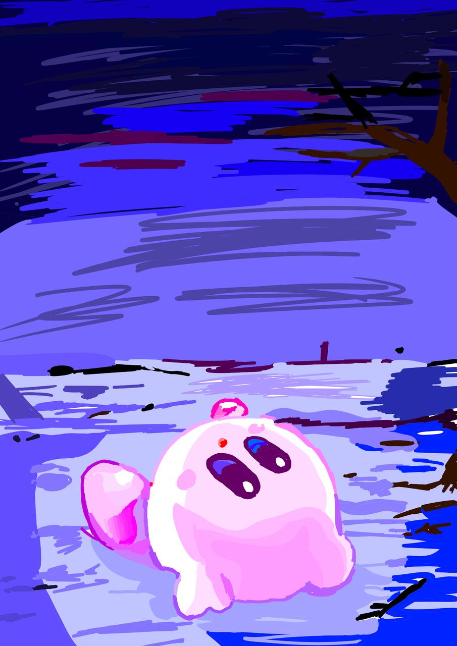 타이틀 미입력 Illust of 별페니 medibangpaint Kirby character