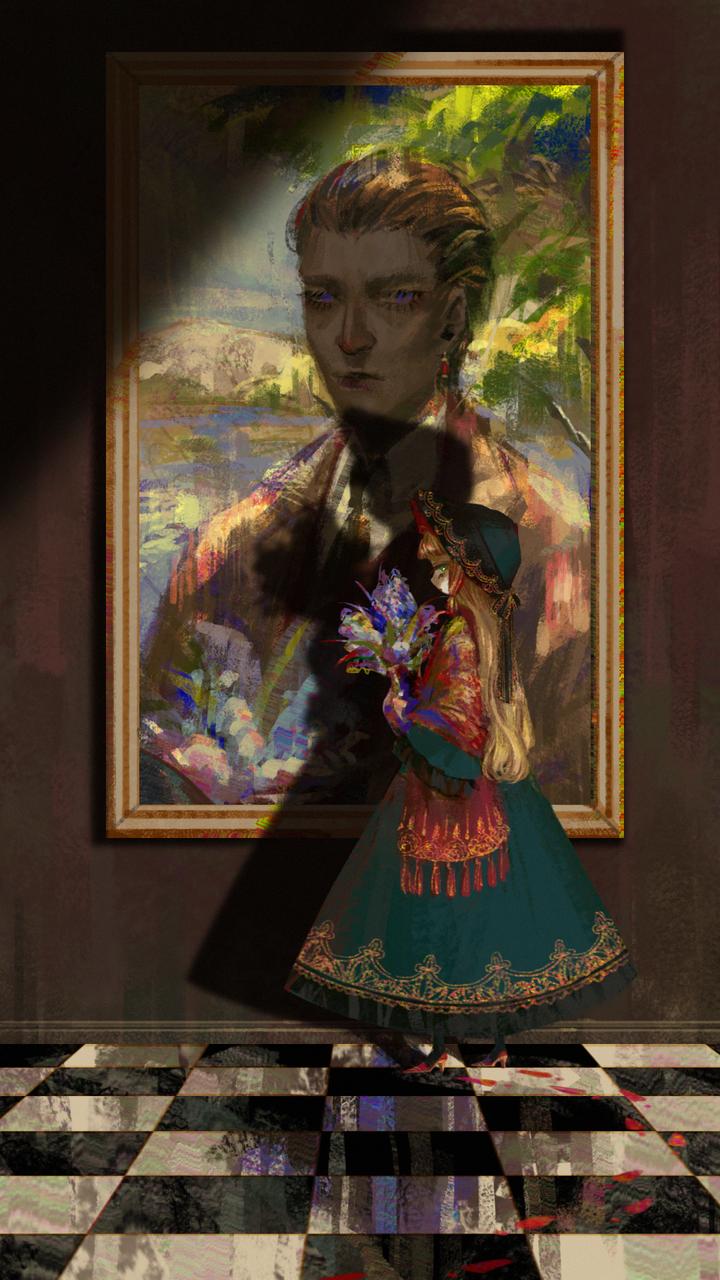Looking for --- Illust of ilion girl original