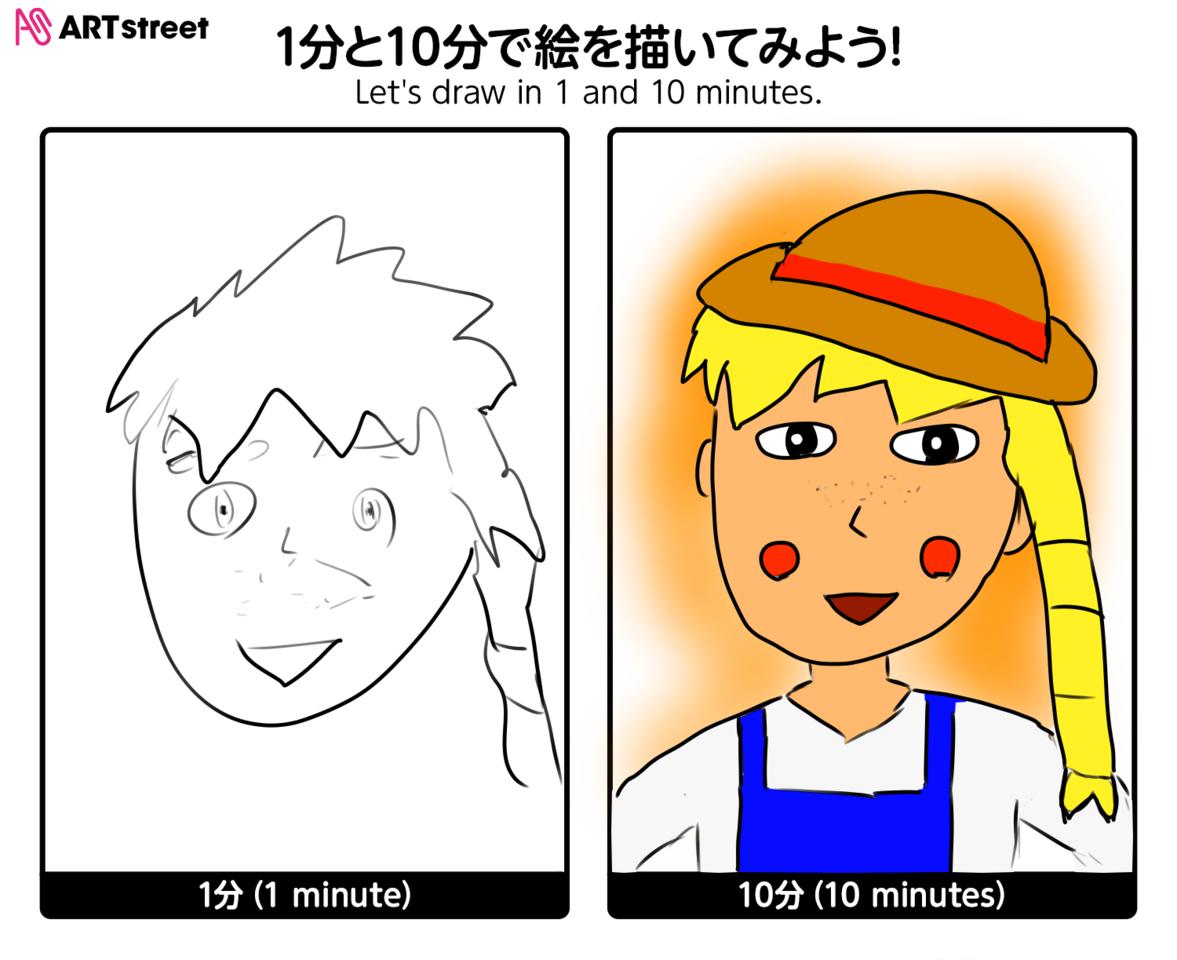 イラストチャレンジ「女の子・金髪・そばかす・かわいい」 Illust of tsunepiko@MediBang medibangpaint girl iChallenge そばかす blonde