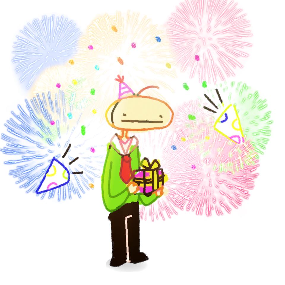 happy birthday lad Illust of ✧・゚:* Fresh *:・゚✧ happybirthday ilymate