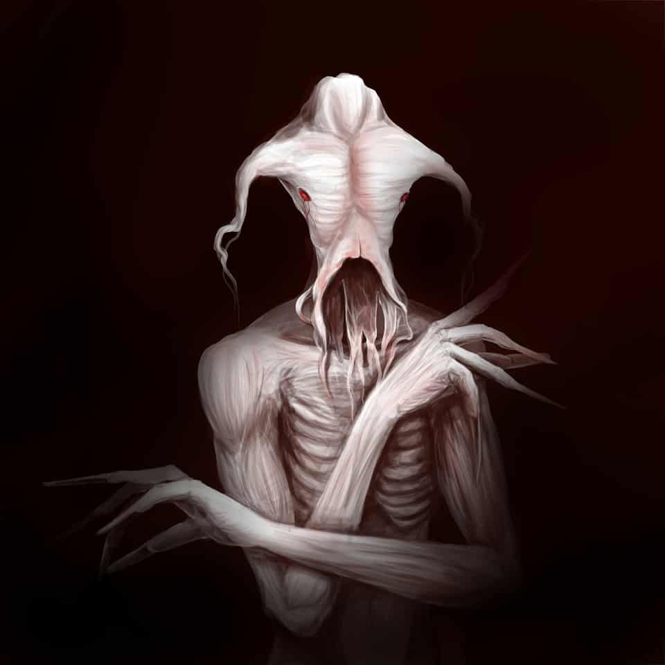 MEAT Illust of ggday horror August2020_Contest:Horror medibangpaint painting monster illustration iPad_raffle